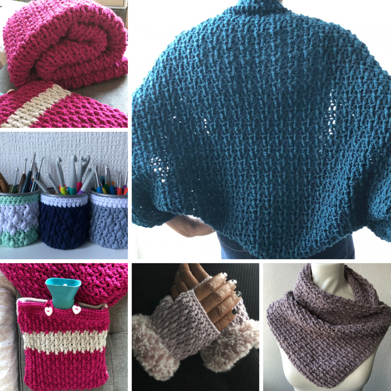 Easy crochet patterns – Marian Bay Collection