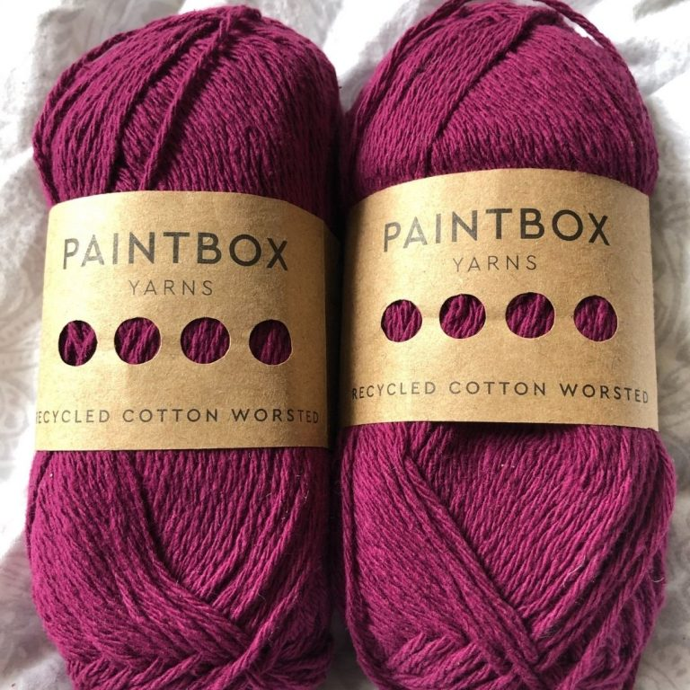 Yarn Review – Paintbox Recycled Cotton Worsted
