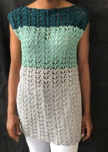 How to make a crochet beach cover - Split Decision Tunic